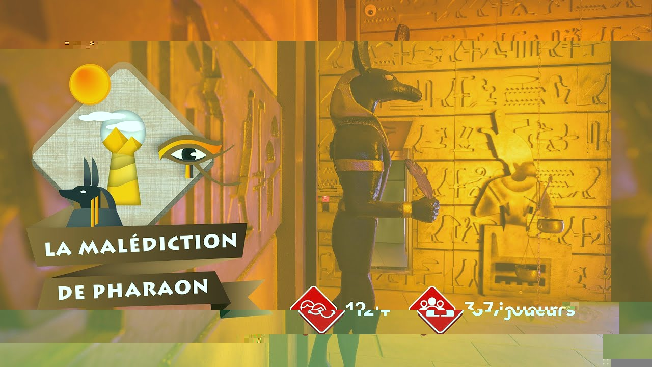 Housetrap - La Malediction de pharaon